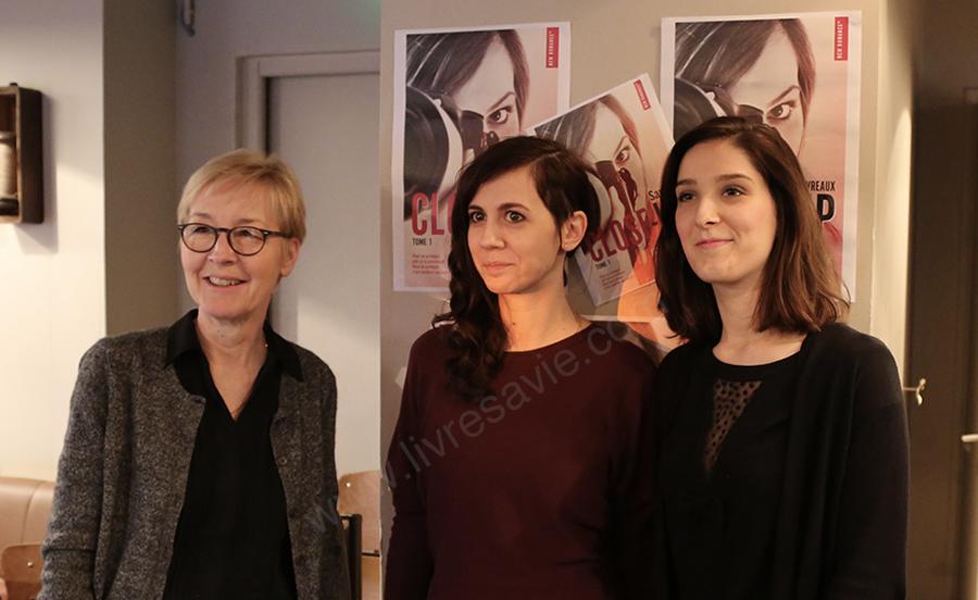 Isabelle, Jane & Marion