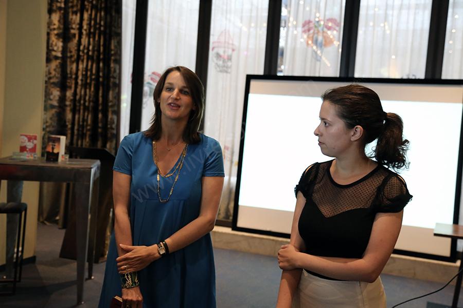 L'éditrices éditoriale Karine Bailly & l'éditrice Laury-Anne